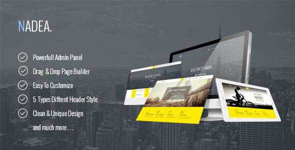Nadea – Responsive Multi-Purpose WordPress Theme (Business) Download