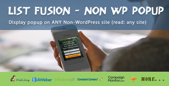 CodeCanyon List Fusion Non WP PopUp 11804580