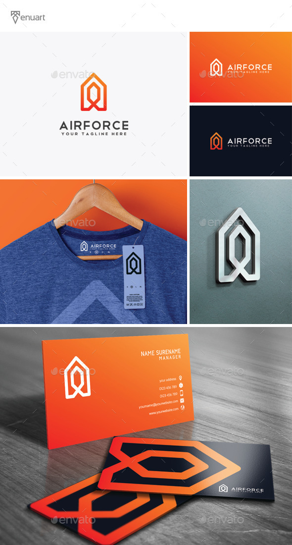 GraphicRiver Airforce Logo 11804750