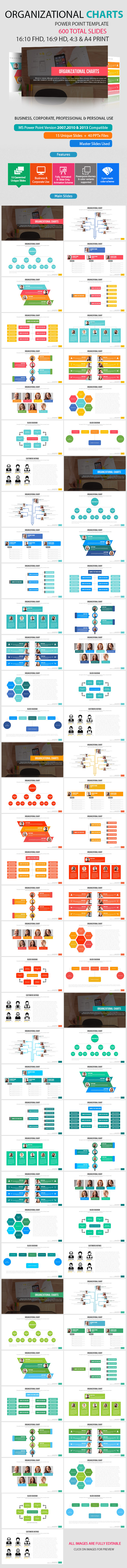GraphicRiver Organizational Chart Power Point Presentation 11804956