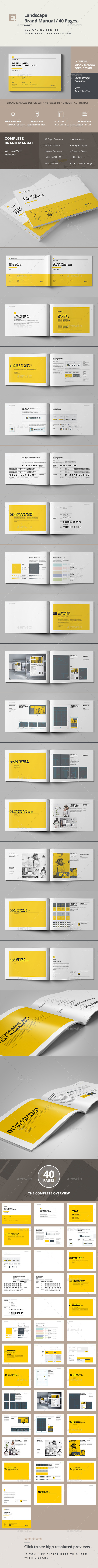 GraphicRiver Brand Manual 11805697