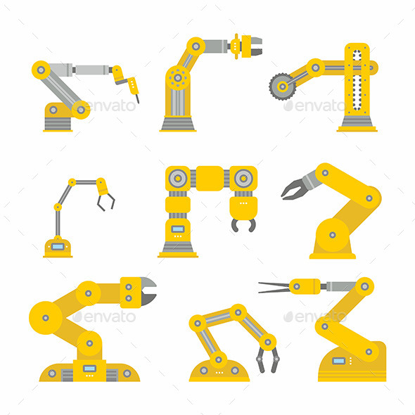 GraphicRiver Industrial Robot Arm 11805987
