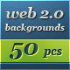 50 web 2.0 Backgrounds Collection - GraphicRiver Item for Sale