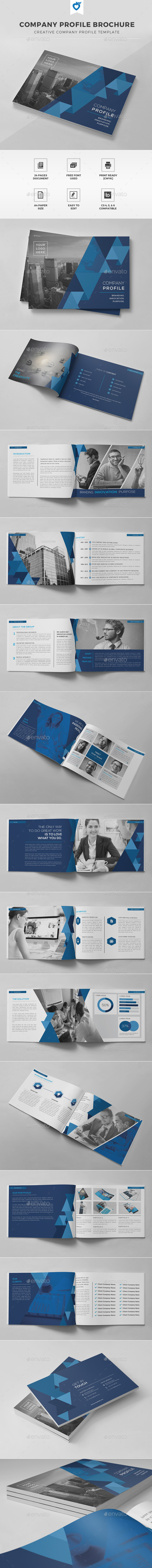 GraphicRiver Company Profile Brochure 11808076