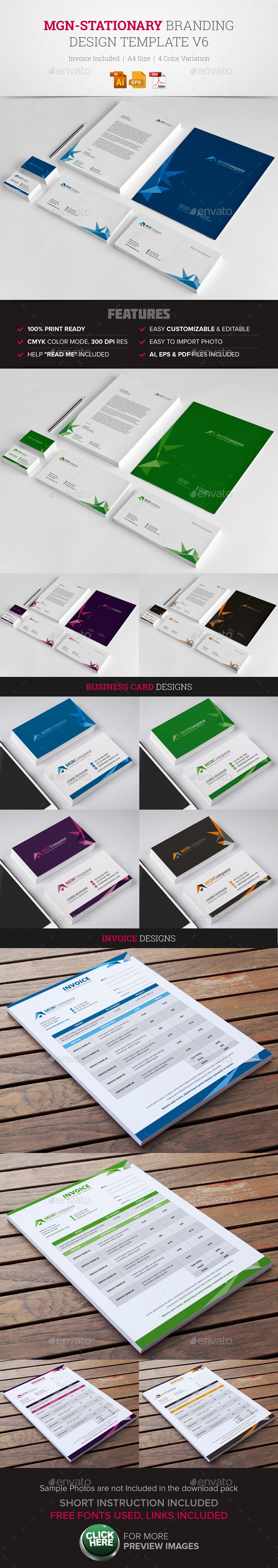 GraphicRiver MGN-Stationary & Invoice Design v6 11808412