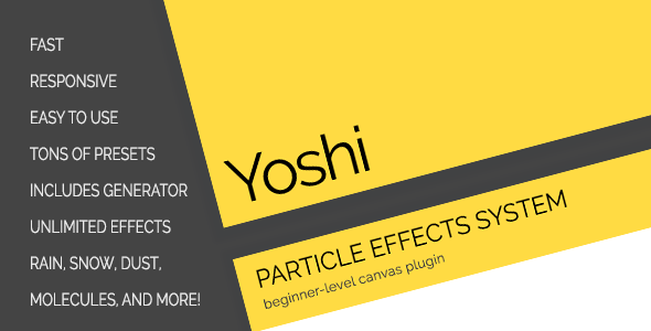 CodeCanyon Yoshi Particle Effects System 11808842