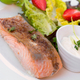green and healthy food salmon salad. - PhotoDune Item for Sale