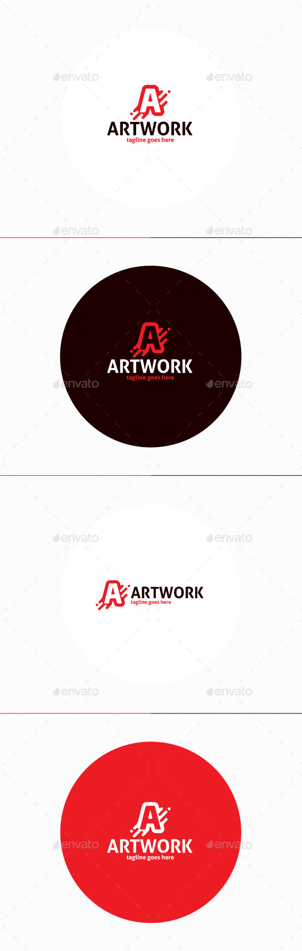 GraphicRiver Art Work Logo Letter A 11808966
