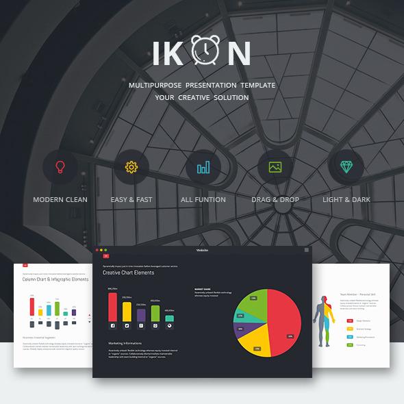 GraphicRiver IKON Multipurpose Presentation Template 11809251