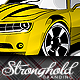 Stylized Muscle Car