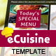 eCuisine Template - ActiveDen Item for Sale