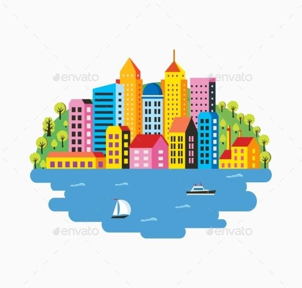 GraphicRiver City Infographics 11809712
