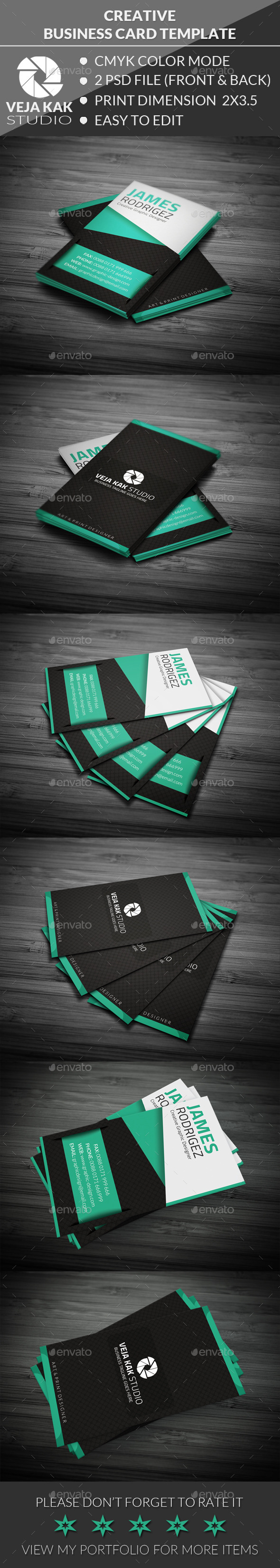 GraphicRiver Personal Business Card 11809715