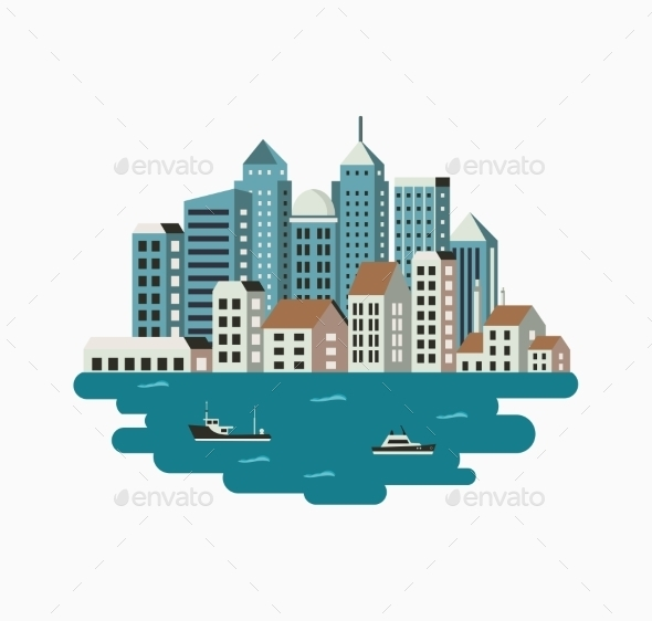 GraphicRiver Print City 11809737