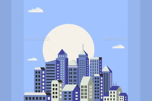 GraphicRiver Flat Style Of Houses 11809843