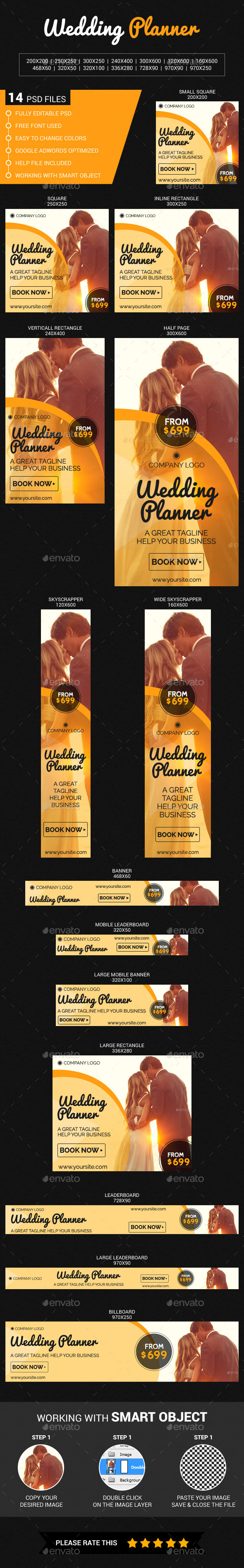 GraphicRiver Wedding Planner 11810066