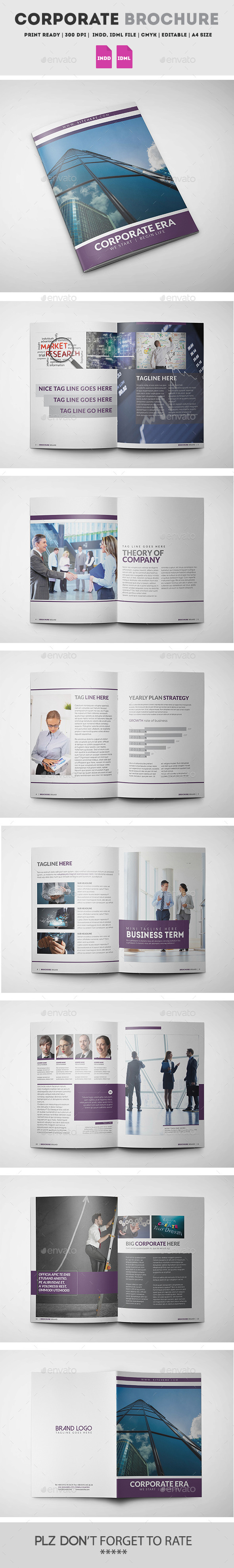GraphicRiver Corporate Brochure Template 11810069