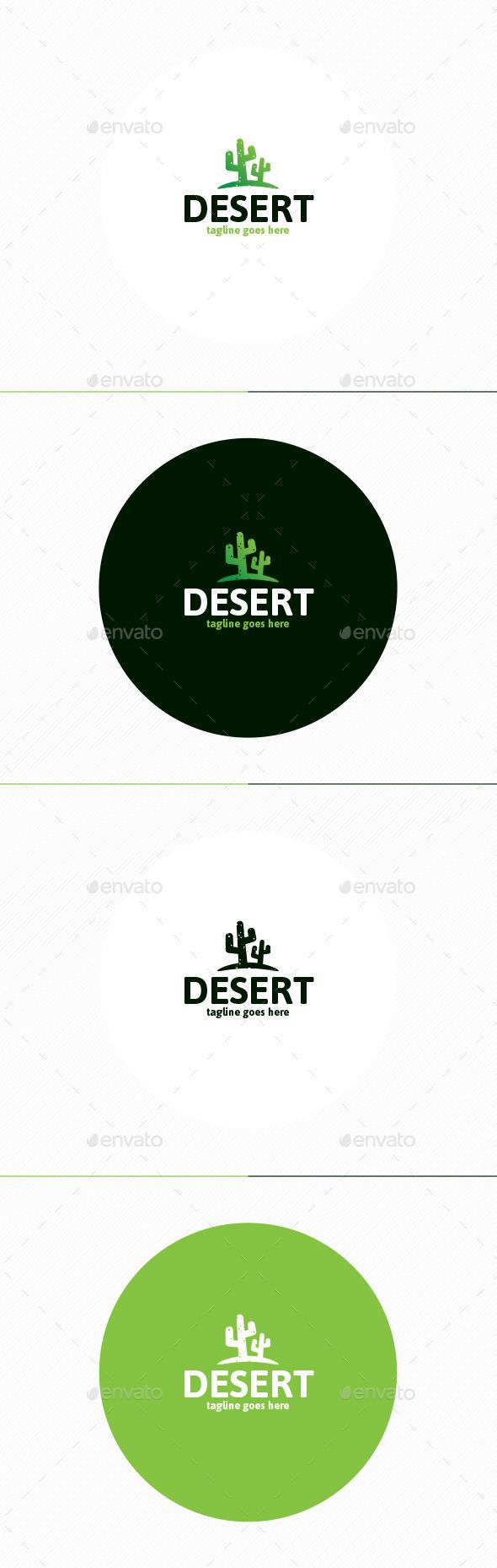 GraphicRiver Desert Logo 11810406