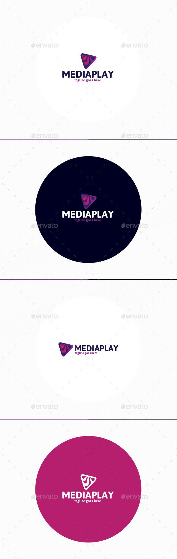 GraphicRiver Media Play Logo 11810473