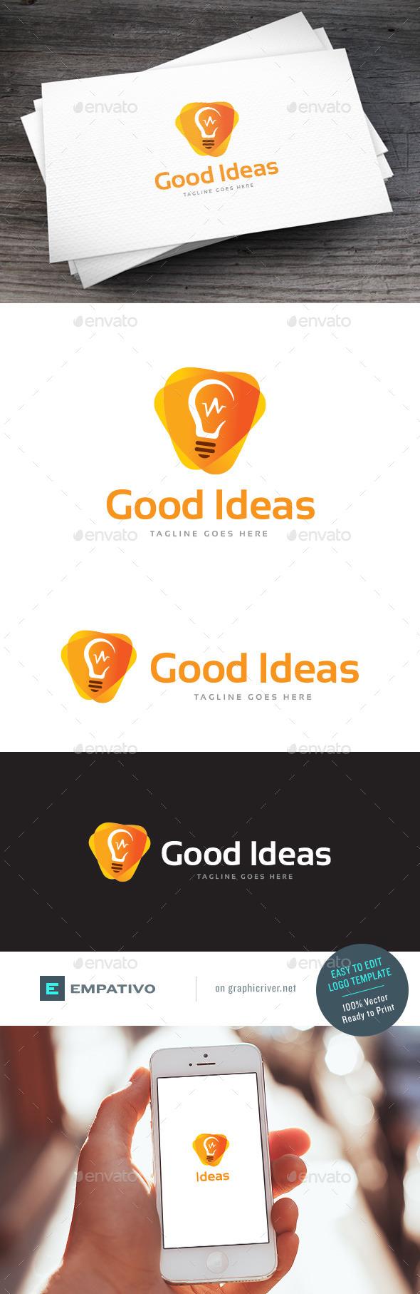 GraphicRiver Good Ideas Logo Template 11810594