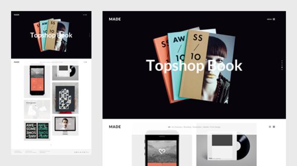 ThemeForest MADE Freelance & Agency Portfolio Template 11729689