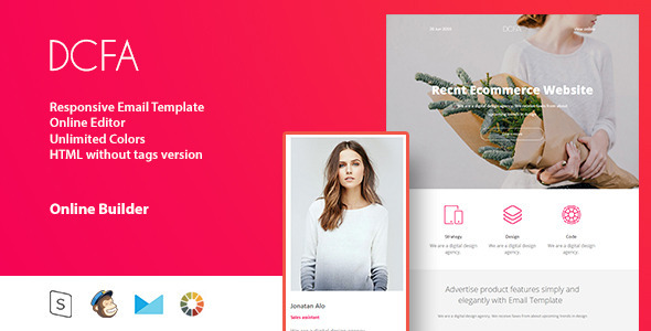 ThemeForest DCFA Responsive Email & StampReady Build 11744861