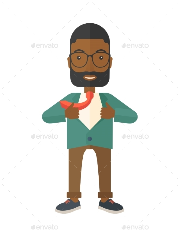 GraphicRiver Working Man Changes His Clothes 11811801