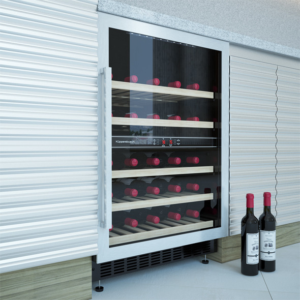 3DOcean Electric Wine Cabinet Kuppersbusch UWK 8200-0-2Z 11811865