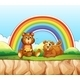 Bears and Rainbow - GraphicRiver Item for Sale