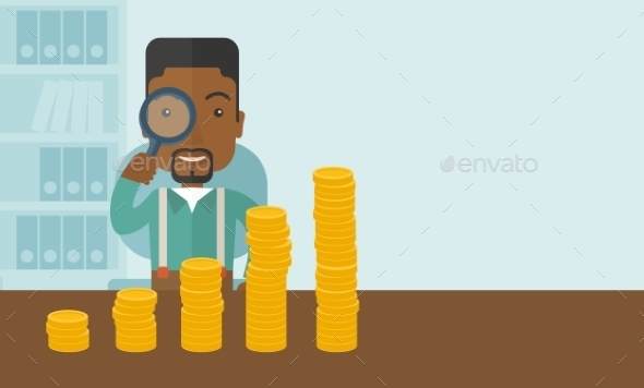 GraphicRiver Man Looking at His Growing Business 11811975