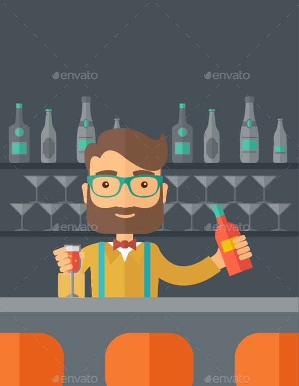 GraphicRiver Bartender 11812209