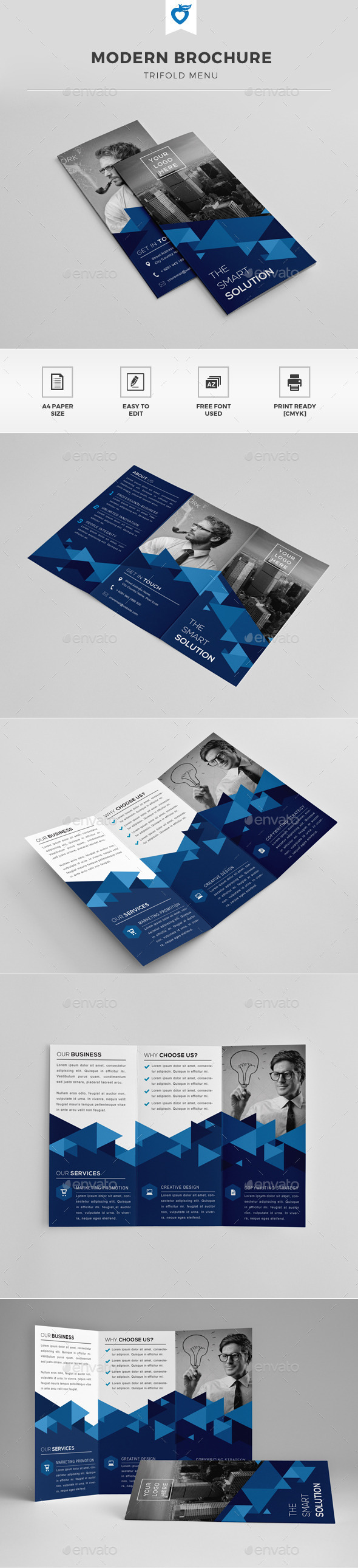 GraphicRiver Trifold Brochure 11812531