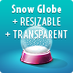 Snow Globe - GraphicRiver Item for Sale