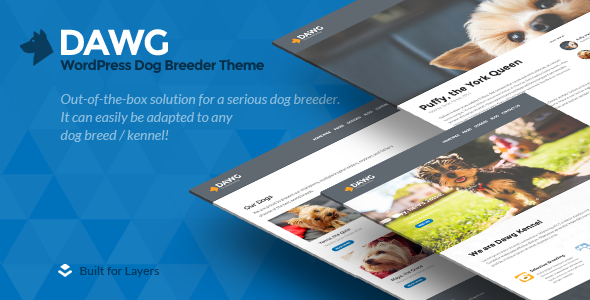 ThemeForest Dawg WP Dog Breeder theme 11812979