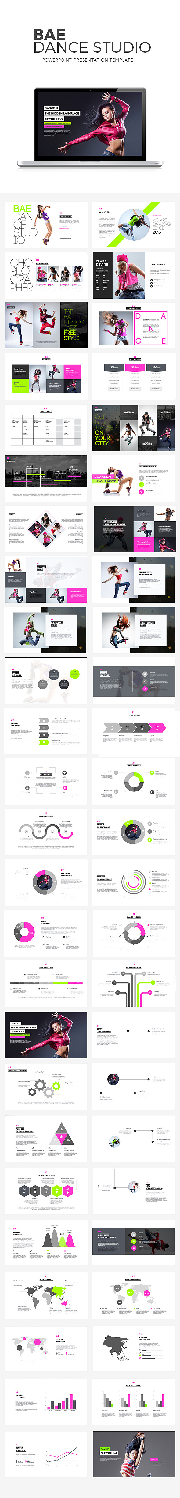 GraphicRiver Bae Dance Powerpoint Presentation 11812983