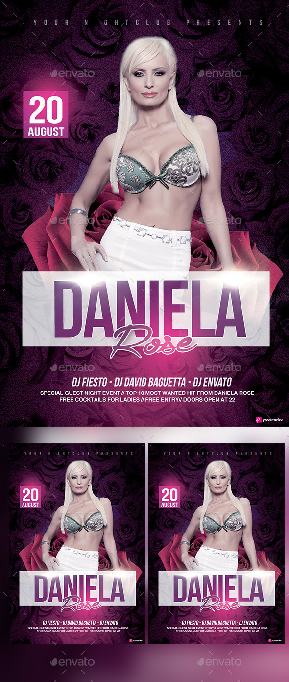 GraphicRiver Special Guest Flyer 11813500