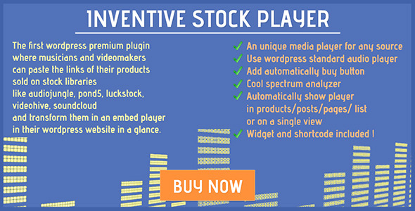 CodeCanyon Inventive stock player 11717717