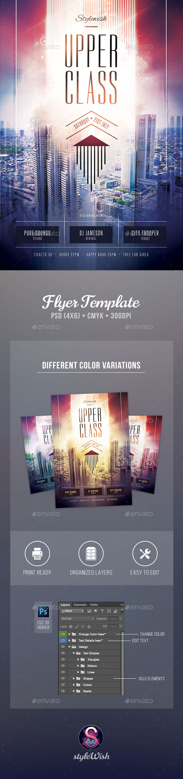 GraphicRiver Upper Class Flyer 11813992
