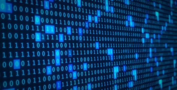 Binary code background by nispo videohive - Binary background gif ...