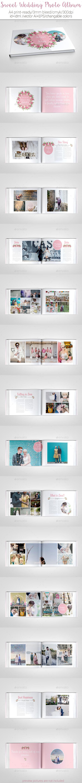 GraphicRiver Sweet Wedding Photo Album 11814114