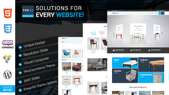 ThemeForest TREND WooCommerce WordPress Theme 11542091
