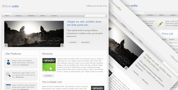 Silverado - Web 2.0 Theme