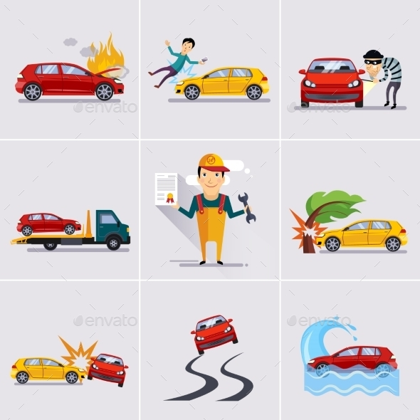 GraphicRiver Car And Transportation Insurance 11815694