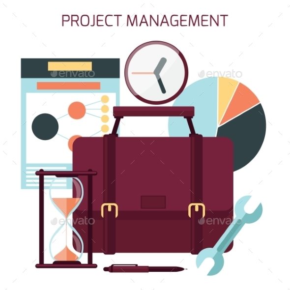 GraphicRiver Project Management Concept 11816175