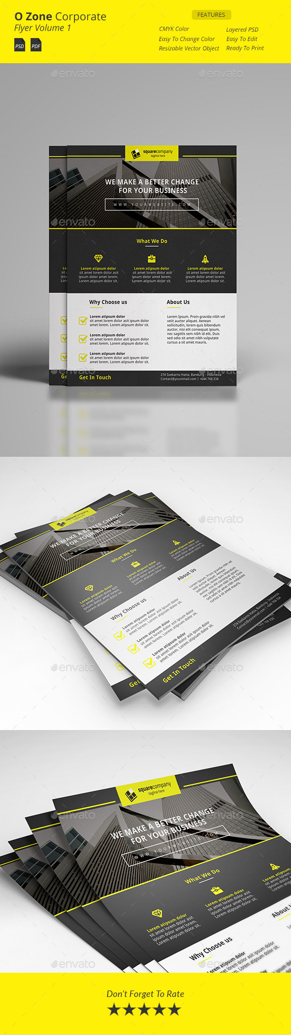 GraphicRiver Wan Corporate Flyer 11816266