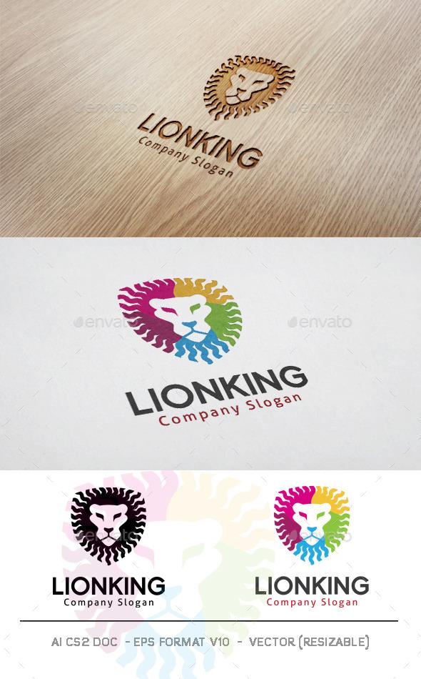 GraphicRiver Lion King Logo 11816267