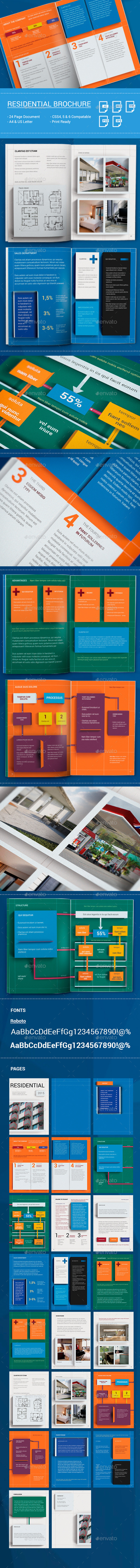 GraphicRiver DIEZ Real Estate Brochure Template 11786777