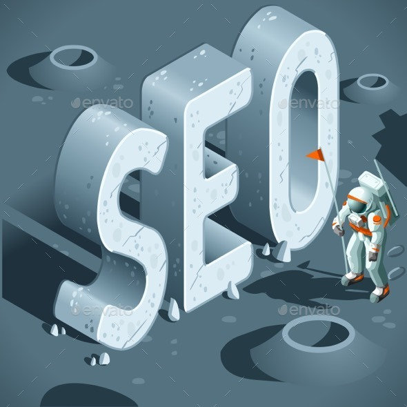 GraphicRiver Isometric SEO Discovery 11816865