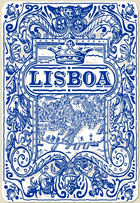 GraphicRiver Traditional Tiles Azulejos Lisboa Portugal 11816885