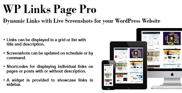 CodeCanyon WP Links Page Pro 11785567